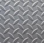 Лист рифлёный стальной